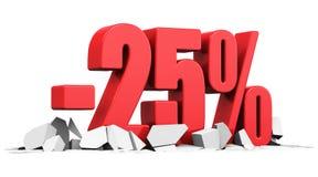 Sprzedaży i rabata reklamy pojęcie Zdjęcie Stock