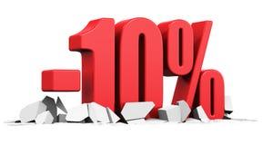 Sprzedaży i rabata reklamy pojęcie Obraz Stock