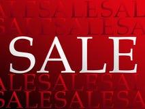 Sprzedaży odprawa Zdjęcia Stock