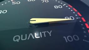 Sprzedaży, pracy zespołowej, stresu, występu, sukcesu, sppedometer lub wskaźnika konceptualna animacja, zdjęcie wideo