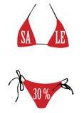 sprzedaży swimsuit Zdjęcie Stock