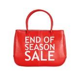Sprzedaży torby projekta element odizolowywający na bielu Zdjęcie Royalty Free