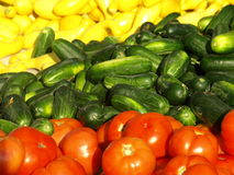 sprzedaży vegatables Zdjęcia Stock