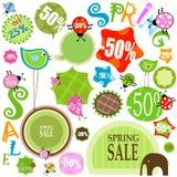 sprzedaży wiosna ilustracji