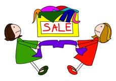 sprzedaż ilustracja wektor