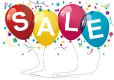 Sprzedaż balony Obrazy Royalty Free