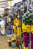 Sprzedaże owoc i warzywo na hindusa rynku Zdjęcia Royalty Free