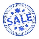 sprzedaż gumowy znaczek Zdjęcia Royalty Free