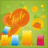 sprzedaż jaskrawy set Fotografia Stock