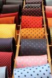 sprzedaż krawaty zdjęcia royalty free