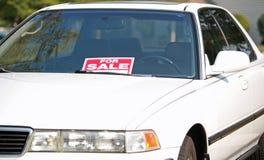 sprzedaż samochodów Zdjęcie Royalty Free