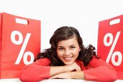 sprzedaż sezon Fotografia Stock