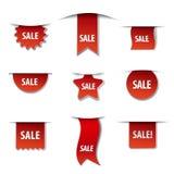 Sprzedaż sztandary Zdjęcia Stock
