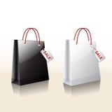Sprzedaży torby zakupy Fotografia Stock