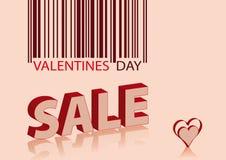 sprzedaży valentines Ilustracji