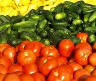 sprzedaży vegatables Obraz Royalty Free