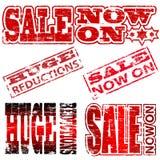 Sprzedaż Znaczki Zdjęcie Stock
