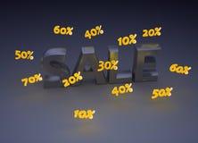 sprzedaż znak Zdjęcia Stock
