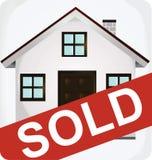 Sprzedająca ikona Obraz Stock