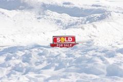 Sprzedający Znak Zdjęcie Royalty Free
