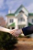 Sprzedawać pięknego nowego dom Fotografia Royalty Free