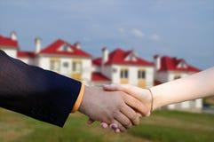 Sprzedawać pięknego nowego dom Obraz Royalty Free