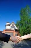 Sprzedawać pięknego nowego dom Zdjęcia Stock