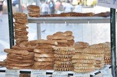 Sprzedawanie Chlebowy materiał zdjęcia royalty free