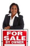 sprzedawanie domowa kobieta Obrazy Royalty Free