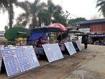 Sprzedawców sandwhiches Zdjęcie Royalty Free