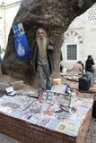 Sprzedawca ulica Obraz Royalty Free