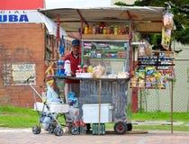 Sprzedawca uliczny Zdjęcie Stock