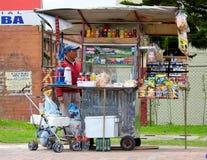 Sprzedawca uliczny Obraz Stock