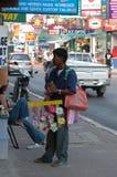 Sprzedawca uliczny Fotografia Stock