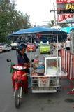 Sprzedawca uliczny Fotografia Royalty Free
