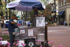 Sprzedawca uliczny Obraz Royalty Free