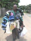 Sprzedawca uliczny w Zimbabwe Obraz Royalty Free