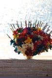 Sprzedawcy dosyć kwitną dla sprzedaży na plaży, Meksyk Obraz Royalty Free