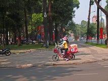 sprzedawcy kremowy lodowy wietnamczyk Zdjęcia Royalty Free