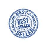 sprzedawcy najlepszy gumowy znaczek Zdjęcia Stock