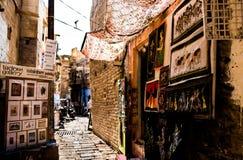 Sprzedawcy uliczni Zdjęcie Royalty Free