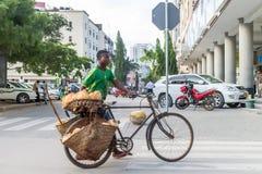Sprzedawcy Uliczni Dar Es Salaam Zdjęcie Royalty Free