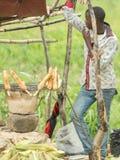 Sprzedawcy Uliczni Dar Es Salaam Obraz Royalty Free