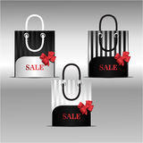 Sprzedaży torba Zdjęcie Royalty Free