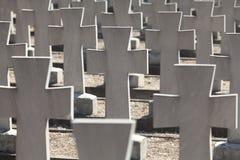 sprzymierzeni cmentarze Obrazy Royalty Free