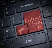 Späteste Nachrichten Stockbilder