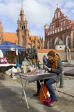 Spting faire in Vilnius, Litauen Lizenzfreie Stockfotografie