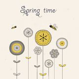 Spting time. Vector Stock Images