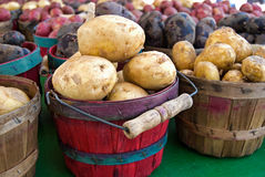 Spud Baskets Royalty Free Stock Images