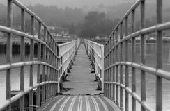 Spud Point Bodega Bay California. Pier at the Marina Stock Photos